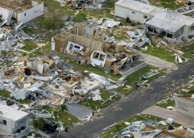 Homes Destroyed by Hurricane Charley