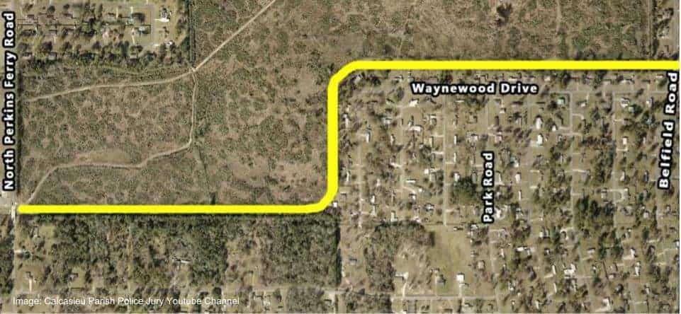 Moss Bluff Belfield Ditch Widening Project Information From CPPJ