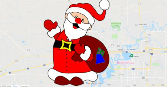 Christmas Light Map featured image
