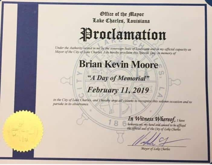 Brian Moore Day