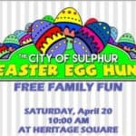 City of Sulphur Easter Egg Hunt 2019