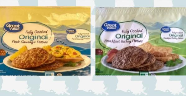 Great Value Fully Cooked Patties Recall