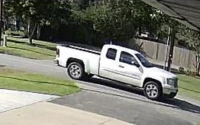 Calcasieu Parish Sheriff's Office Searching for Driver of Truck Involved in Hit & Run