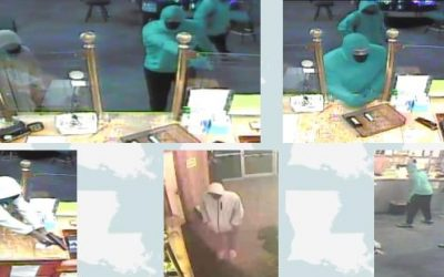 Calcasieu Parish Sheriff's Office Searching for Armed Robbery Suspects