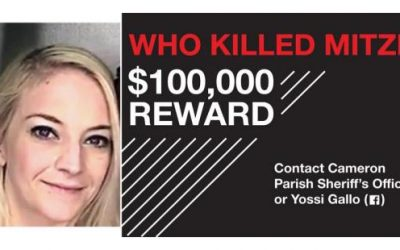Cash Reward of $100,000 Offered for Information about the Death of Mitzie Galimidi