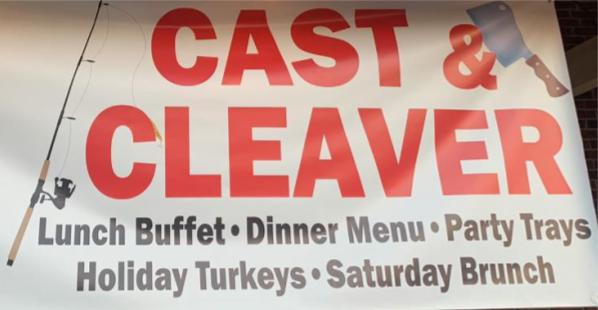 Bergeron's in Sulphur is Now Cast & Cleaver