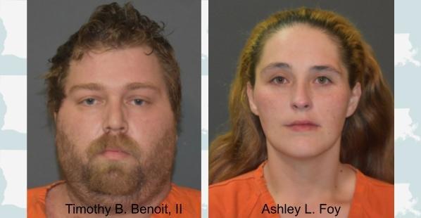 Timothy B Benoit, II; Ashley L Foy, Lake Charles