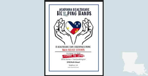 Huge Healthcare Event at Stine in Sulphur Wednesday, October 14